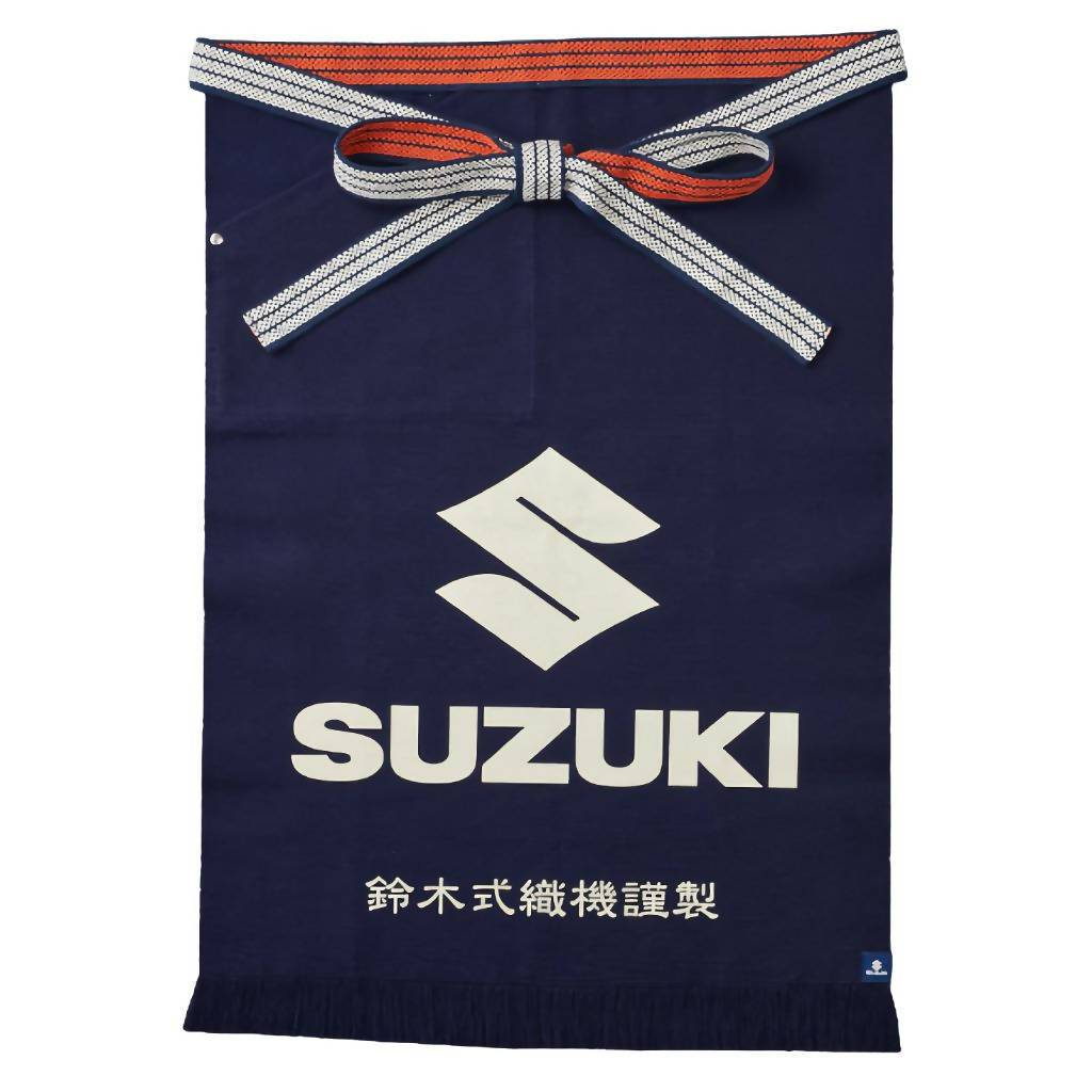 画像: 鈴木式織機製 前掛け SUZUKI