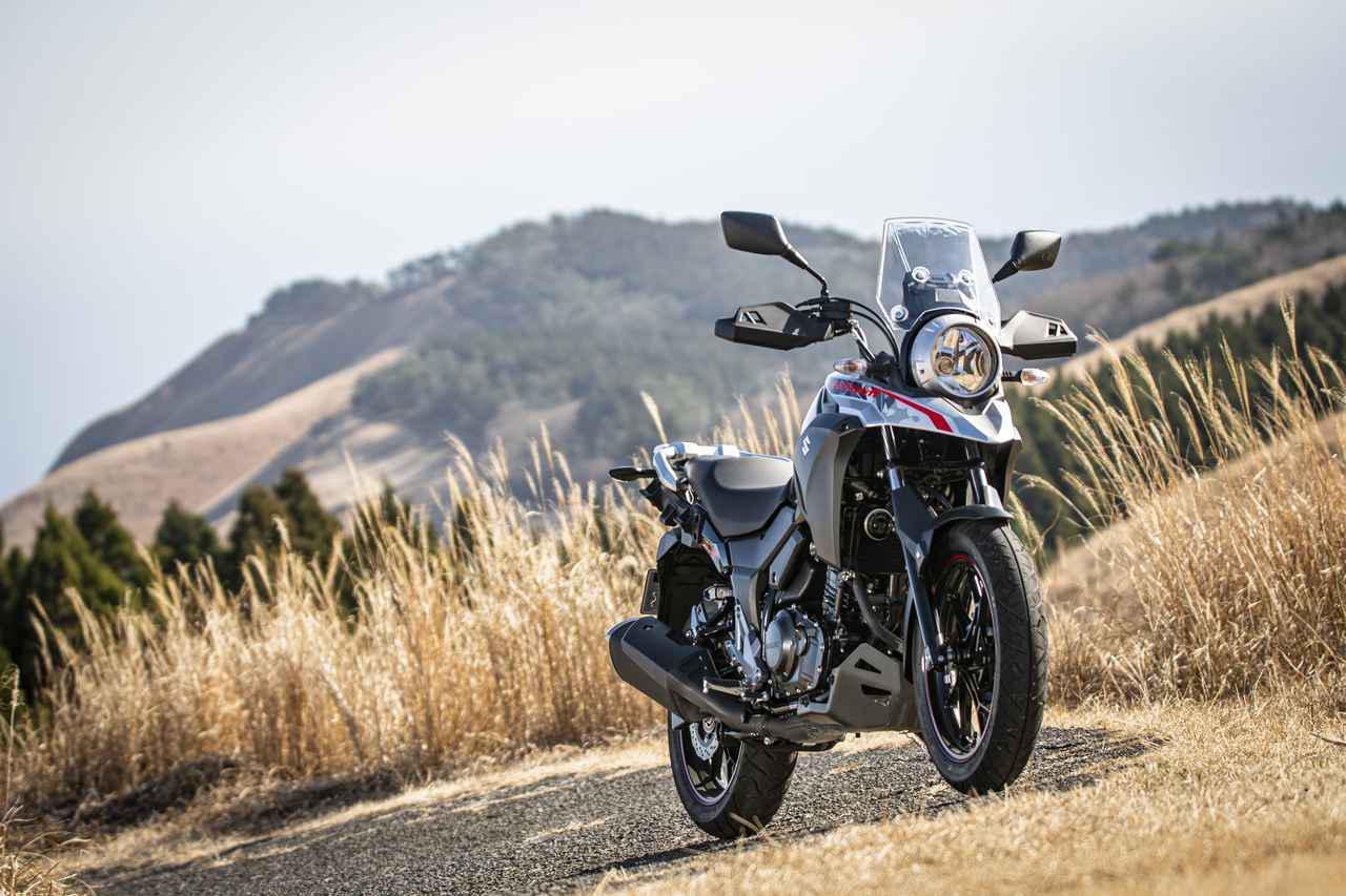 """画像: ツーリングバイクとして""""大事なもの""""が『Vストローム250』には全部備わってる! - スズキのバイク!"""