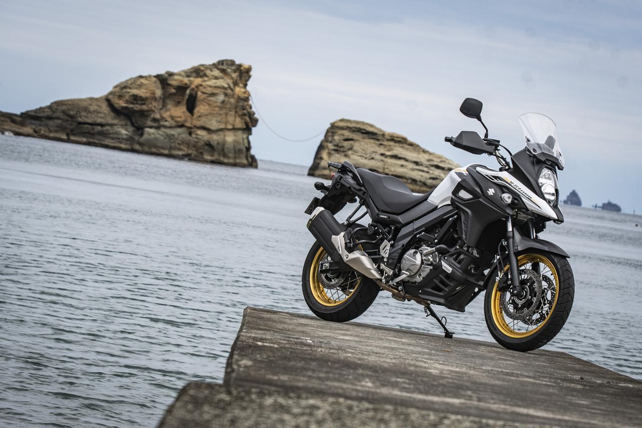 画像: こんな結論でいいのか? スズキ『Vストローム650XT』がリッターバイク並みに長距離を走れる理由の、これが答え!……だと思う!? - スズキのバイク!