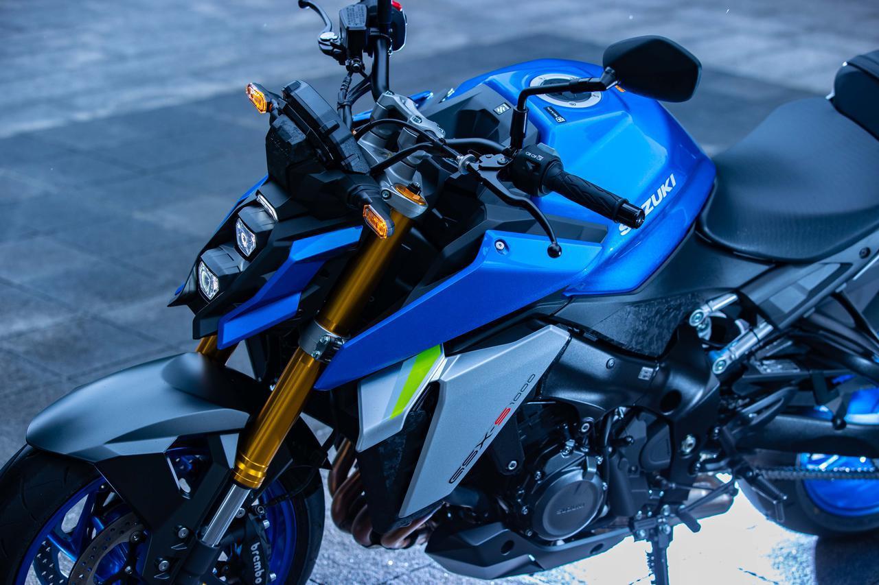 """画像: 完全に化けた!? 新型『GSX-S1000』は先代モデルと""""違うライン""""で走るバイクだ! - スズキのバイク!"""