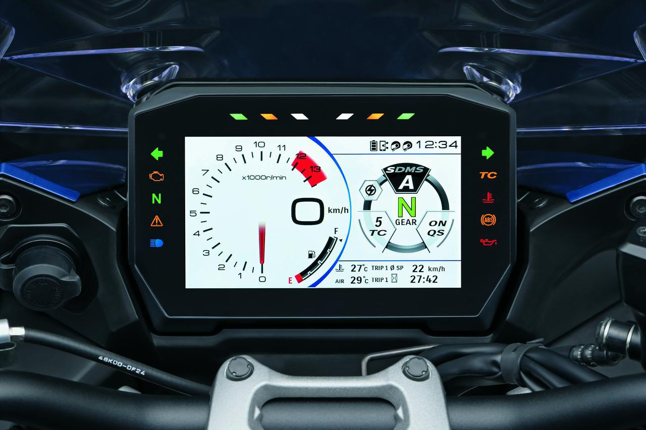 画像8: 新型『GSX-S1000GT』はGSX-S1000Fから何が変わった? 【スズキのバイクの新車ニュース/SUZUKI GSX-S1000GT 装備&ディテール 編】