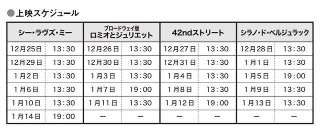 画像2: 12月25日(金)より「松竹ブロードウェイシネマ」アンコール上映開始!!