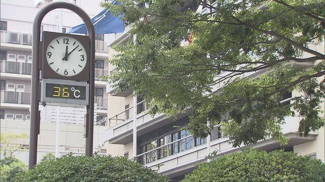 画像: 気象庁が静岡県に高温注意情報を発表し、熱中症に注意呼びかけ 静岡市は正午現在、全国一の暑さ