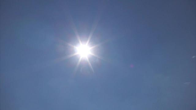 画像: 強い日差しが続く静岡県内