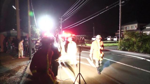 画像: 火事の現場