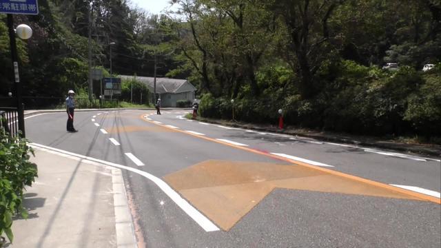 画像: 事故の現場