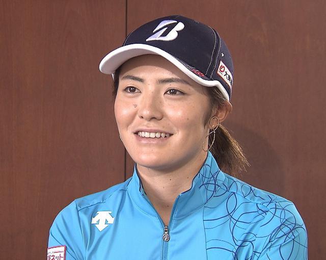 画像: 今季ツアー第4戦で4位に浮上した渡邉彩香
