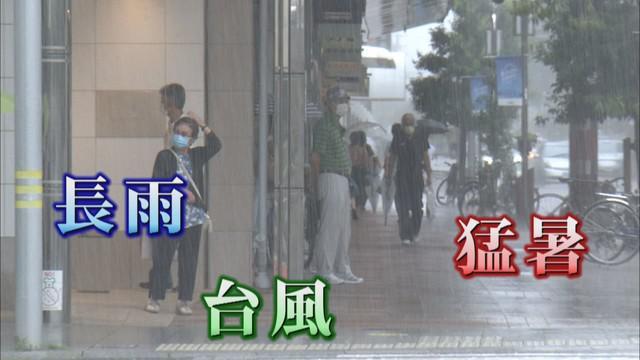 画像1: ナス2本180円⇒260円 スイカは3500円⇒5000円 長雨、猛暑、台風で野菜の値段が高騰 静岡県