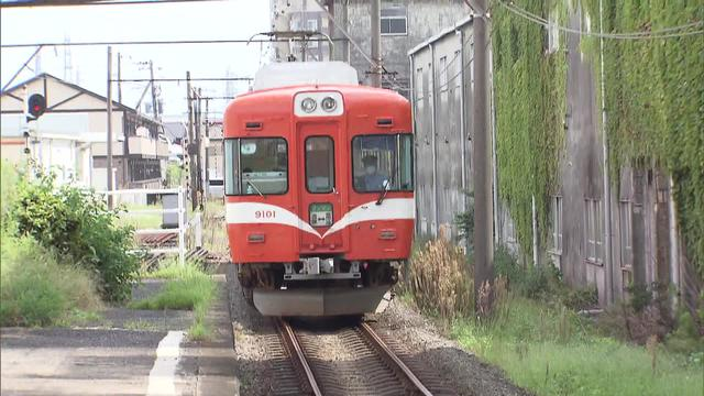 画像: 岳南電車の車両