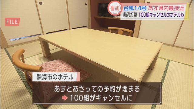 画像3: 【台風14号】GoToトラベルでにぎわっていた静岡・熱海市 100組のキャンセルが出たホテルも