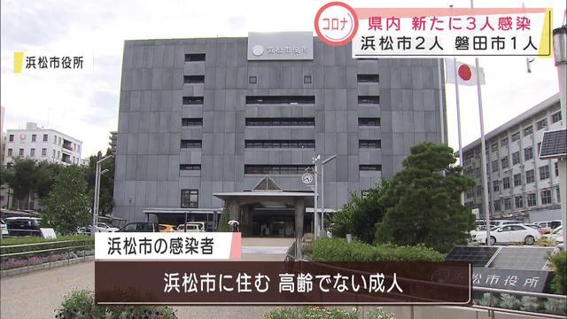 画像: 【新型コロナ】浜松市で2人磐田市で1人新たに感染が判明 youtu.be