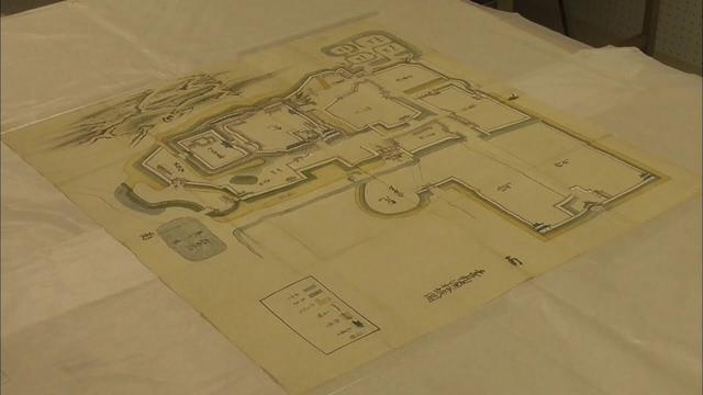 画像: 新発見か? 江戸時代前半の浜松城描く絵図発見 城内の建物の屋根にこれまでと違った特徴が… 浜松市 youtu.be