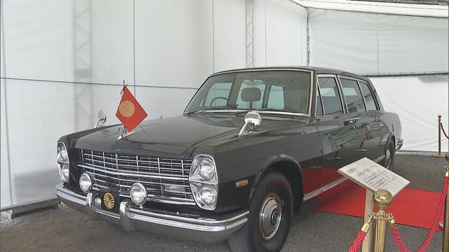 画像: 天皇家が乗車した旧御料車を展示 静岡・沼津市の御用邸記念公園