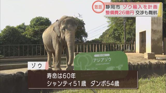 画像1: ゾウ4頭を輸入して環境を整えるのに26億円 静岡市