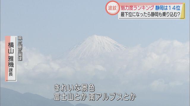 画像2: 魅力度ランキング、静岡県は14位 県担当者「個人的印象ではもう少し高くてもいい」