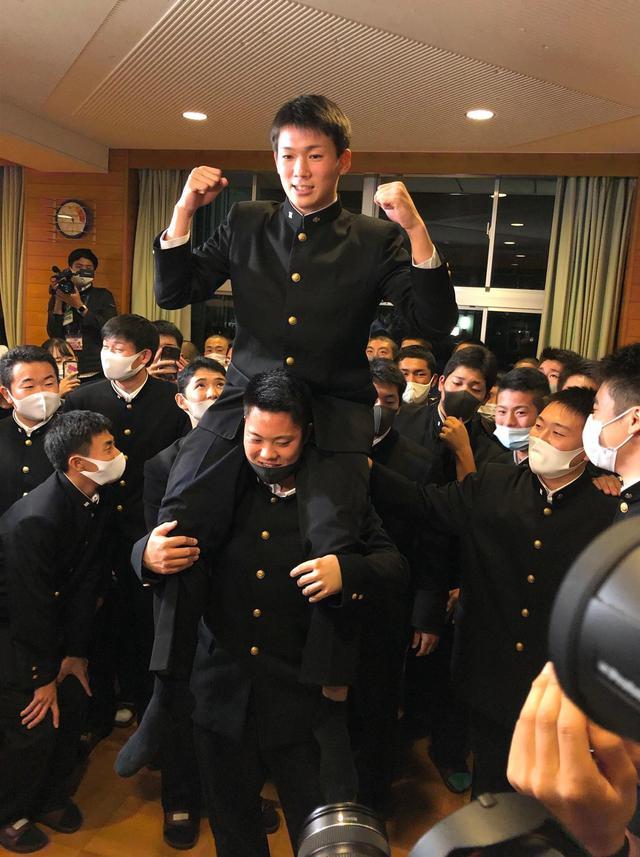 画像: DeNA6位の高田琢登「投手は消耗品、すぐに行きたかった」静岡商から44年ぶり高卒プロに