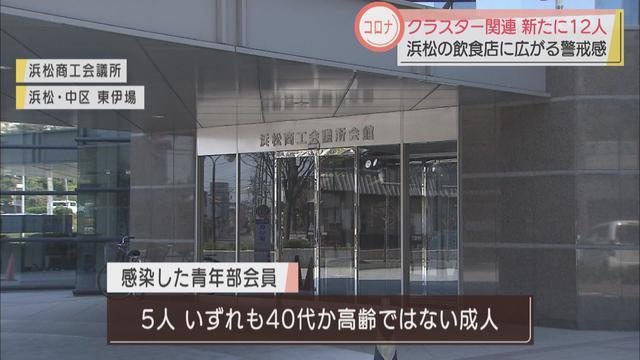 画像: 浜松商工会議所青年部の集団感染 交流会の2次会で感染か