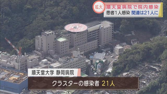画像: 21人に拡大…順天堂大学静岡病院が院内感染を認める 静岡・伊豆の国市