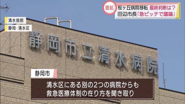 画像: 今月中に一定の結論を… 桜ヶ丘病院移転問題で静岡市 youtu.be
