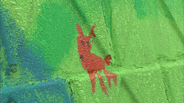 画像1: 壁画のテーマは「三倉の風景、現在、未来、夢