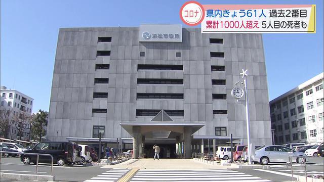 画像: 【新型コロナ】新たに61人が感染、1人死亡 静岡県「病床はひっ迫しつつある」 youtu.be