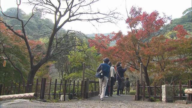 画像2: 都内で感染急増…首都圏からの観光客多い熱海梅園は足湯に人数制限 静岡・熱海市