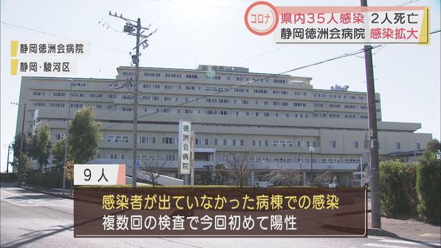 画像: 【新型コロナ】静岡県内35人感染、2人死亡…静岡徳洲会病院のクラスター関連も9人、計51人に youtu.be