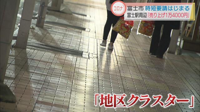 画像2: 静岡県富士市で夜8時までの時短営業 飲食店の客は3人、売り上げ1万4000円