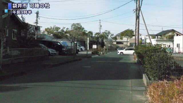 画像: 静岡県袋井市内の現場付近
