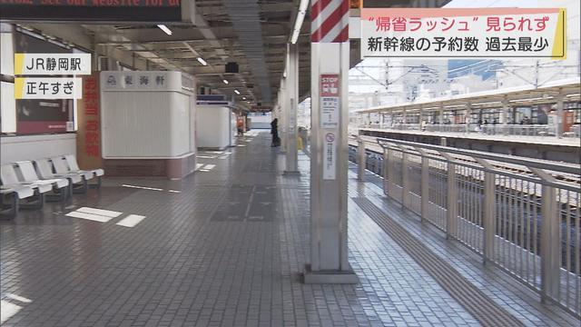 画像: 空席目立つ新幹線 ひかり、こだまともに乗車率10%程度 静岡駅 youtu.be