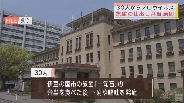 画像: 旅館の弁当を食べた30人がノロウイルス食中毒 静岡・伊豆の国市