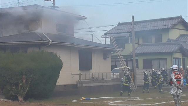 画像: 浜松市で朝火事 80代男性が死亡、妻は逃げて無事