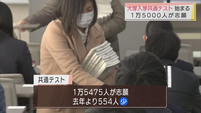 画像: センター試験に代わる大学入学共通テスト始まる 静岡県内では1万5475人が志願 youtu.be