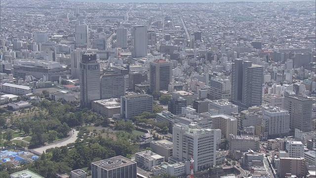 画像: 静岡市の中心部