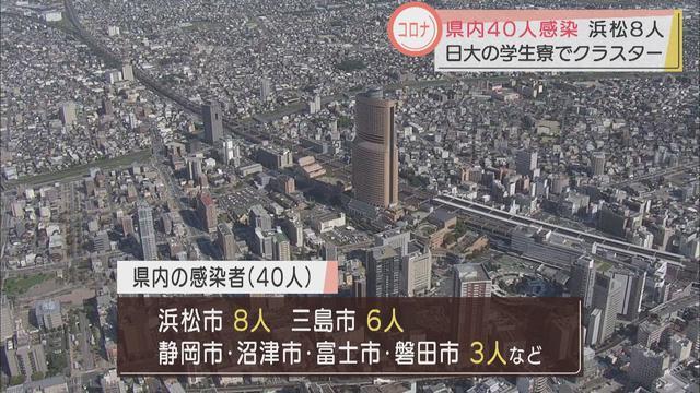 画像: 【新型コロナ】静岡県で40人感染 大学学生寮で新たなクラスター youtu.be