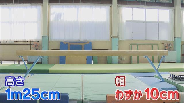 画像1: 舞台は高さ1メートル25センチ、幅10センチ