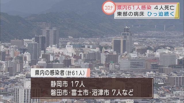 画像: 【新型コロナ】静岡県61人感染…掛川市で新たなクラスター 変異種感染者の地域公表求める問い合わせが県に58件 youtu.be