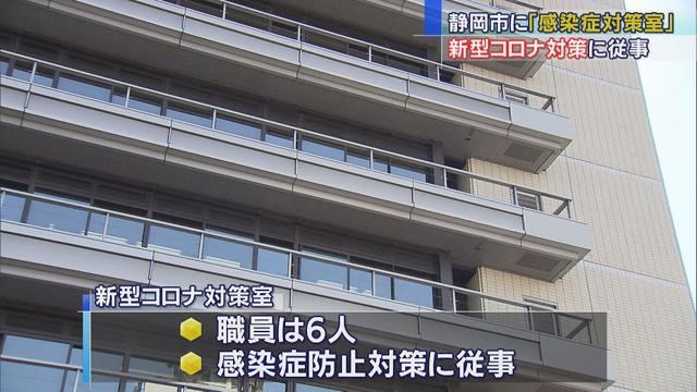 画像: 「感染症対策室」新設、保健所職員も増員へ 来年度の組織改正で 静岡市 youtu.be