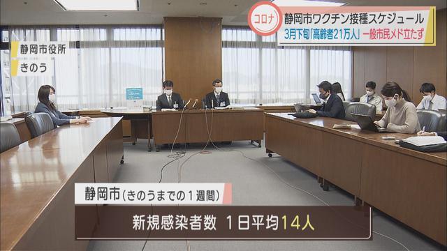 画像: 【新型コロナ】ワクチン高齢者の接種は3月下旬から一般市民はまだめど立たず 静岡市