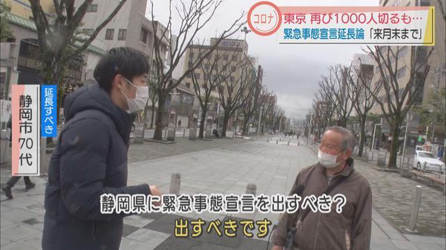 画像3: 「緊急事態宣言」延長の動きに静岡県民は?
