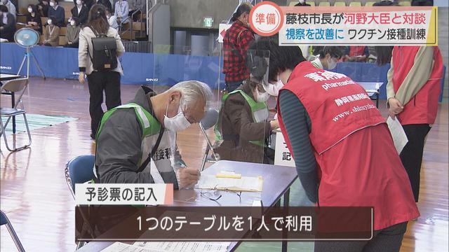 画像2: 密を避けて効率的に ワクチン注射のシミュレーション 静岡・藤枝市