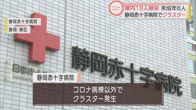 画像: 静岡赤十字病院で6人感染
