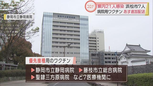 画像: 【新型コロナ】静岡県で21人感染 浜松医療センター関連が6人 接待伴う飲食店対象の検査でも1人 youtu.be
