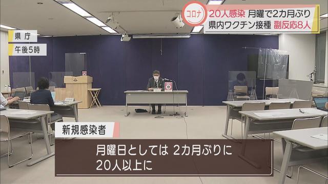 画像: 【新型コロナ】ワクチン接種8人が副反応、数人はアナフィラキシーショックの疑い 静岡県内20人感染、月曜日としては2カ月ぶりの多さ youtu.be