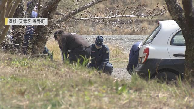 画像: 少女の遺体が見つかった現場 浜松市天竜区
