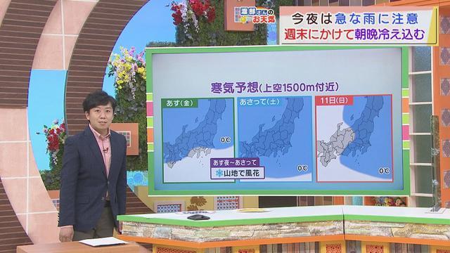 画像: 【4月8日 静岡】渡部さんのお天気 あすは「午後は雲多い」 山間部ではあす夜から雪が舞う可能性も youtu.be
