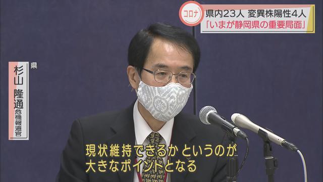 画像: 静岡県「今が一番重要な時期」
