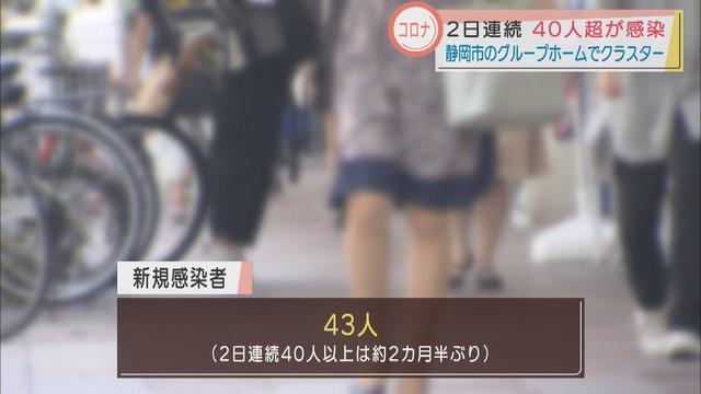 画像: 【新型コロナ】静岡県43人感染…静岡市の高齢者向け施設でクラスター 航空自衛隊浜松基地の感染も広がる youtu.be