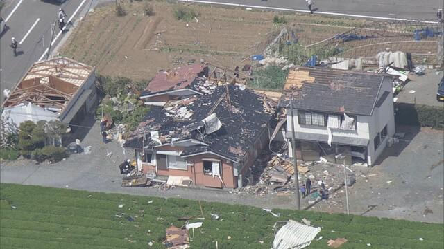 画像: 静岡県牧之原市の突風被害 5月2日撮影