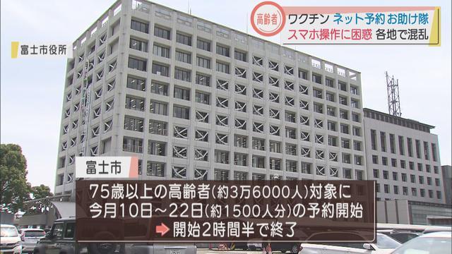 画像4: 新型コロナワクチンネット予約で各地で混乱 静岡県三島市では「お助け隊」を設置